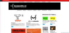 Web de l'espai de creació BaumannLab
