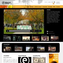 Web d'Eguzki Bideoak