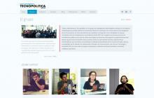 """Web del grup de recerca del In3 """"Redes, Movimientos y Tecnopolítica"""" (grupo)"""