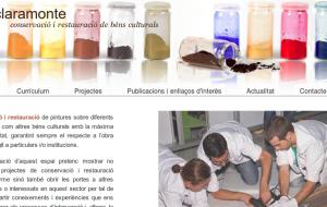 web site pau claramonte - conservació i restauració de béns culturals